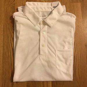 J.Crew Men's Polo Shirt NWT White, Size M